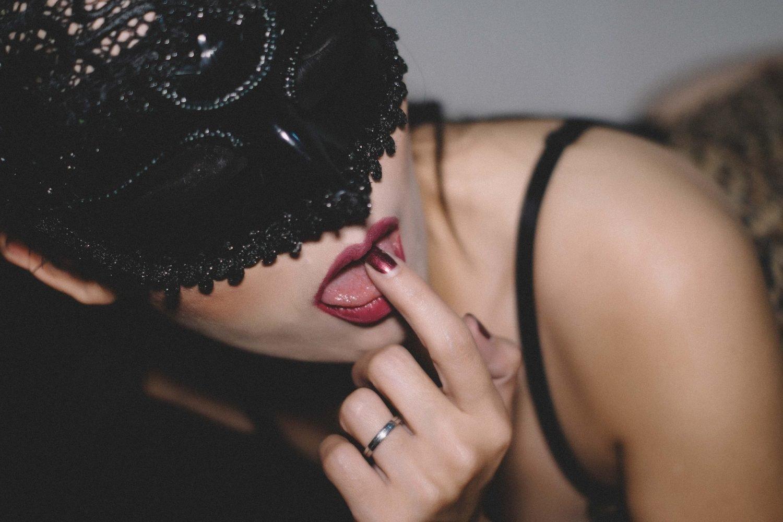 porno černé stříkat