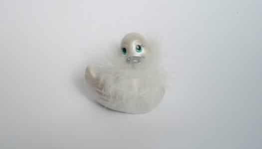 Vibrační kachnička do vany Mini Paris Blanc – RECENZE