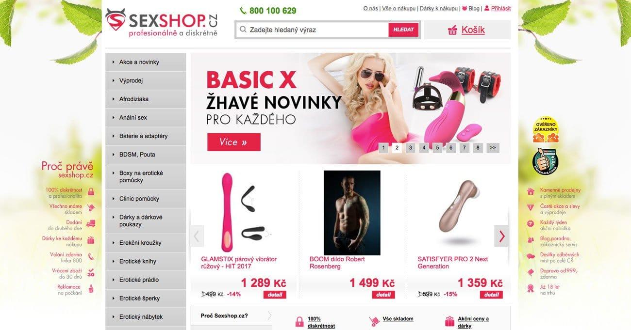 RECENZE sexshopu Sexshop.cz – zkušenosti, nákupy a sortiment