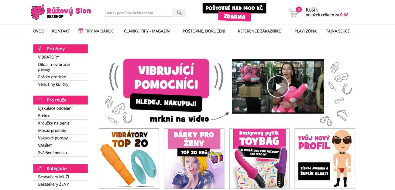 RECENZE sexshopu Ruzovyslon.cz – zkušenosti, nákup, nabídka…