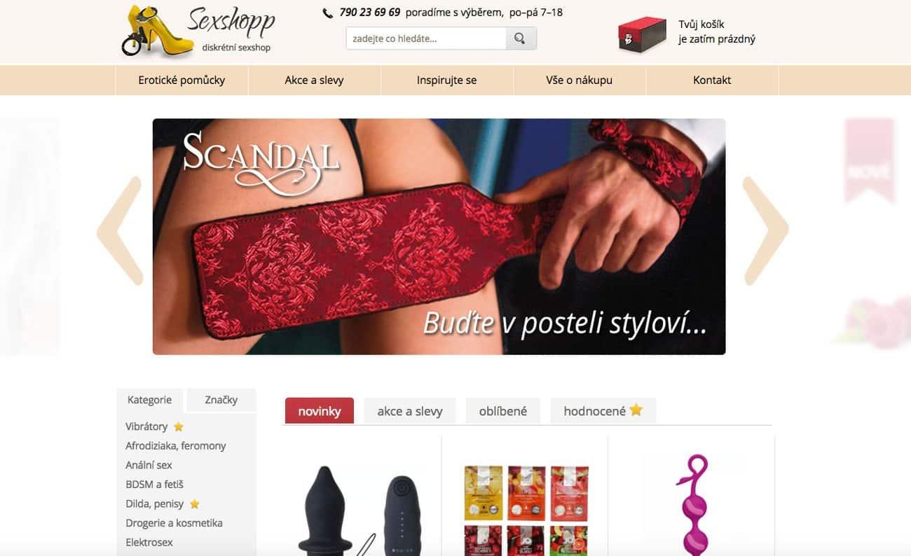 RECENZE sexshopu Sexshopp.cz – sortiment, nákupy a zkušenosti