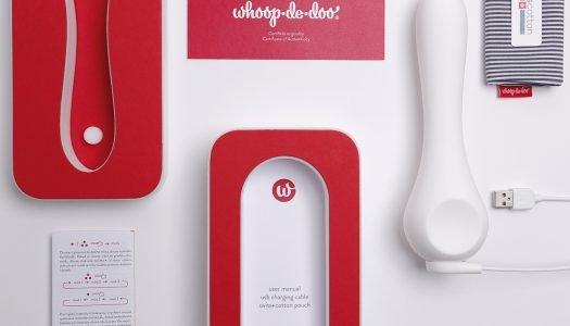 Whoop.de.doo vibrátor od Anny Marešové získal prestižní designovou cenu Red Dot