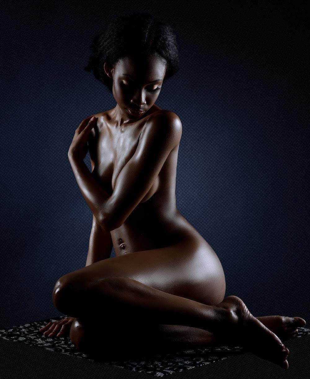 Nádherná sexy černoška