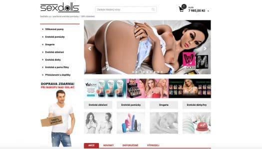 RECENZE sexshopu Sexdolls.cz – zkušenosti, nákup a sortiment