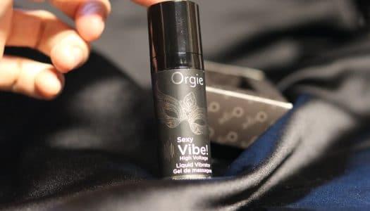 Vrtěti ženou aneb Tekutý vibrátor Orgie Sexy Vibe! High Voltage – RECENZE