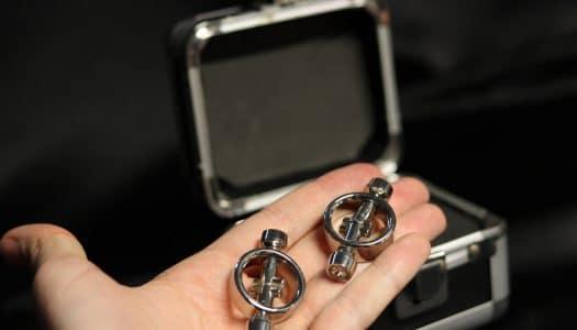 Jak silné jsou svorky na bradavky Magnetic Diamond? Dámská RECENZE