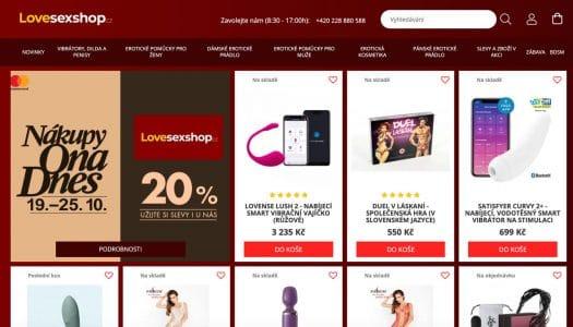 Lovesexshop.cz – RECENZE sexshopu, zkušenosti, sortiment, …