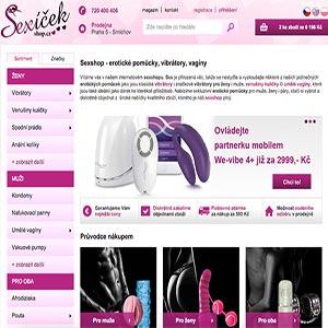 Recenze sexshopu Sexíčekshop.cz