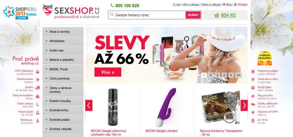 Sexshop.cz - jak nakupovat