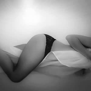 sexy žena a menstruace